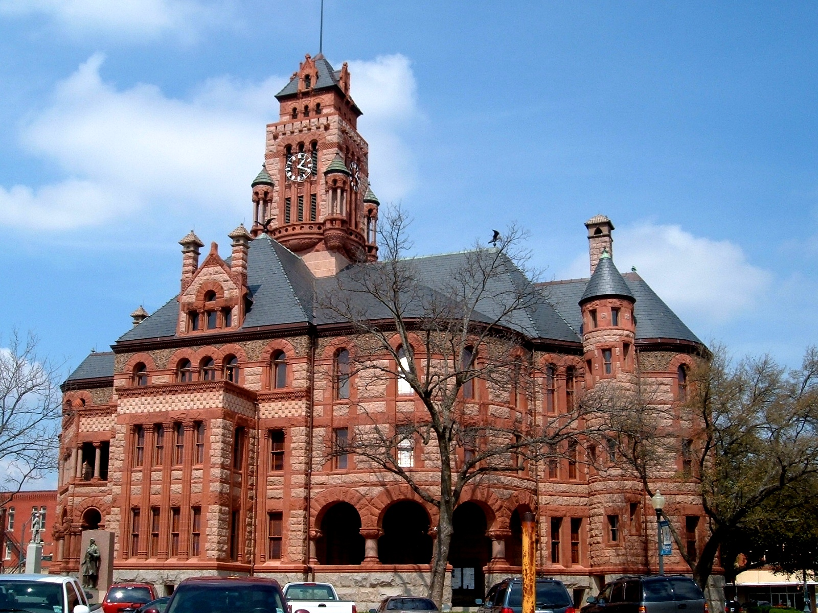 05375 Ellis County Courthouse in Waxahachie